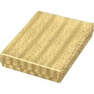 """Box of 100 Gold Cotton Filled Boxes (5 3/8"""" x 3 7/8"""" x 1"""")"""