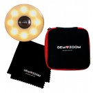 Gem-Zoom™ U Smartphone Macro Lens & Mini-Ringlight Kit