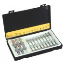 9-Piece Flat Screwdriver Sets in Case