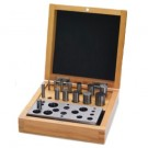 Disc Cutter Set of 14 in a Wooden Box