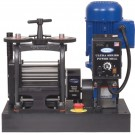 """Ultra Series Power Mills"" 130mm Flat Electric Rolling Mill Made in USA by Pepetools 189.00.EL-120V"""