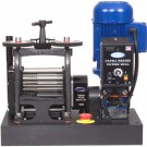 """Ultra Series Power Mills""  130mm Single Combo Electric Rolling Mill Made in USA by Pepetools 189.20.EL-120V"""