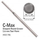 C-Max Stepped Round Graver 1.6 mm Tool Point