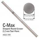 C-Max Stepped Round Graver 2.2