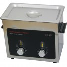 Eumax Ultrasonic Cleaner w Stainless Steel Tank & Heat/Timer Capacity 3/4-Gallon