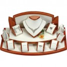 10-Piece Combination Jewelry Display Sets in Ivory & Beech