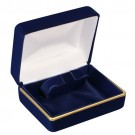 """Savannah"" Bangle Box in Blue Velvet"