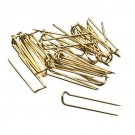 Gold-Toned U-Pins (Bx/100)