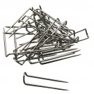 Silver-Toned U-Pins (Bx/100)