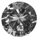 "Diamond-Shaped Clear Glass Crystals, 1.18"" W"