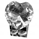 80mm Heart Shape Crystal