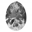 80mm Pear Shape Crystal