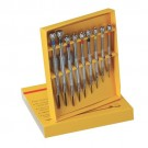 9 Pc Screwdriver Set In Box
