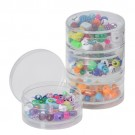 "Stackable Boxes- 2.65"" Round Pack-of-4Pcs"