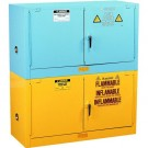 "Safety Storage Cabinets- Green 18""x43""x18"""