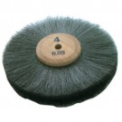 "Steel Wheel Brush 4"" Diameter 4 Row"