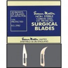 #12 Mold Cutting Blades Curved 5/Pack
