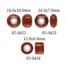 Red Jasper w/ 5mm Grommets