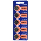 Sony 1616 (CR1616) Battery, Pk/5