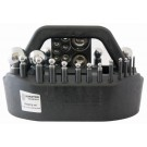 Durston 21 Punch Dapping Set with Flat Block