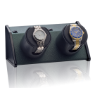 "Orbita ""Sparta Bold"" Self-Programming Double Watch Winder in Forest Green"