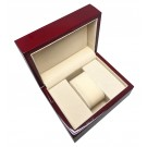 """A&A """"Rodeo"""" Watch Box in Laquered Cherry"""