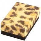 "Leopard Cotton Filled Box 2 5/8"" x 1 1/2"" x 1"""