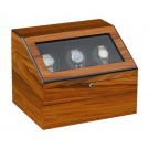 Orbita Siena - Executive 3 Watch Winder - Teakwood (ROTORWIND®)