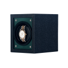 "Orbita ""Piccolo"" Self-Programming Single Watch Winder in Green & Black"