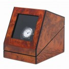 "Orbita ""Siena"" Self-Programming Single Watch Winder in Laquered Maple Burlwood"