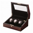 Orbita Siena 3 Watch Winder (Programmable) - Burlwood