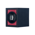 "Orbita ""Piccolo"" Self-Programming Single Watch Winder in Red & Black"
