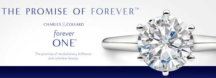 Charles and Colvard Forever One™ Created Moissanite Gemstones