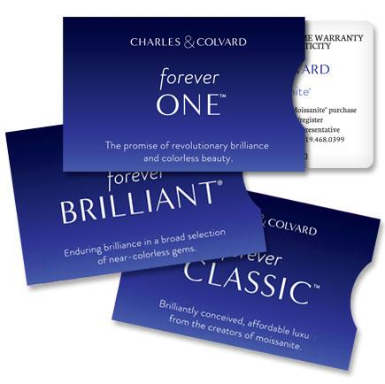 Charles and Colvard Forever One™ Created Moissanite Gemstones