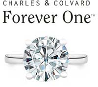 Charles & Colvard Forever One colorless moissanite has made its debut as part of the Forever Family - shop loose gems and select jewelry styles