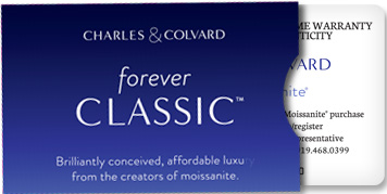 Forever Classic Moissanite Gemstone Created by Charles Colvard